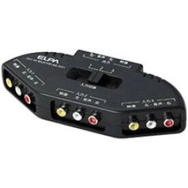 ELPA AVセレクター(ピン端子対応モデル 3入力-1出力) ASL-E311 ASLE311