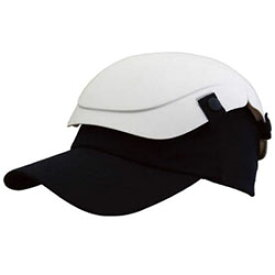 トラスコ中山 防災用セーフティ帽子 キャメット ホワイト TSCMW TSCMW