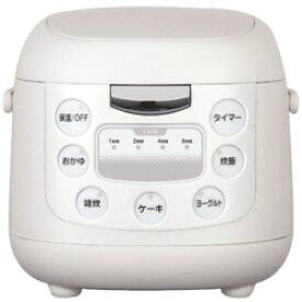 イーバランス EB-RM6200K 炊飯器 ROOMMATE(ルームメイト) ホワイト [3.5合 /マイコン] EBRM6200K