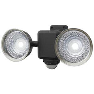 ライテックス 1.3W×2灯フリーアーム式LEDソーラーセンサーライト CSC40 [振込不可]