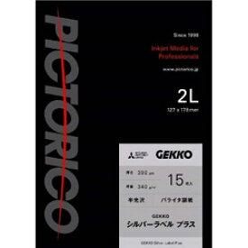 ピクトリコ 【バルク品】 GEKKOシルバーラベル プラス 2L 15枚入 GKSP-2L/15 GKSP2L15