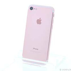 【中古】Apple(アップル) iPhone7 128GB ローズゴールド MNCN2J/A SIMフリー【291-ud】