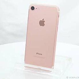 【中古】Apple(アップル) iPhone7 128GB ローズゴールド NNCN2J/A SIMフリー【291-ud】