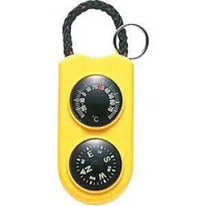 エンペックス 温度計 「サーモ&コンパス」 FG-5124(イエロー) FG5124