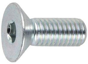 トラスコ中山 六角穴付皿ボルト三価 白 サイズM4X12 25本入 B7730412 B7730412