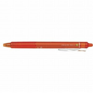 パイロット [ゲルインキボールペン] フリクションボールノック07[消えるボールペン] (インク色:オレンジ) LFBK-23F-O LFBK23FO