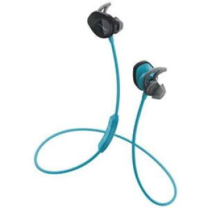 BOSE(ボーズ) SoundSport wireless headphones(ブルー)SSport WLSS AQA【リモコン・マイク対応】【スポーツ向け】 ブルートゥースイヤホン カナル型 SSPORTWLAQA