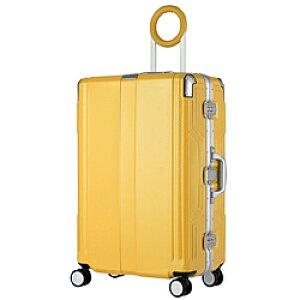 レジェンドウォーカー 防犯ブザー搭載スーツケース 65L TRAVEL BUZZER(トラベルブザー) イエロー 6708-62-YE [TSAロック搭載] 670862YE