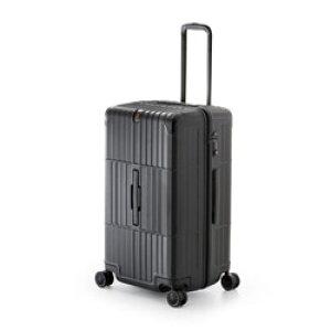 ディパーチャー TSAロック搭載スーツケース ハードキャリー HD-510-27 レザーマットブラック [80 L] HD51027