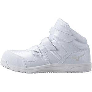 ミズノ 27.5cm 靴幅:3E メンズ 安全靴 MIZUNO WORKING オールマイティSF21M(ホワイト)F1GA190201【JSAA・普通作業用(A種)認定品 耐滑 プロテクティブスニーカー】 [27.5cm] F1GA190201