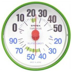 エンペックス 温湿度計 「ルシード」 BC3653(フォレストグリーン)【ビックカメラグループオリジナル】 BC3653