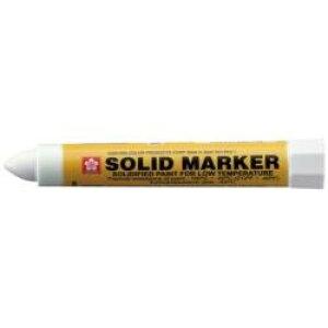 サクラクレパス サクラ ソリッドマーカー (低温用) 白 XSC-T-50W W XSCT50W