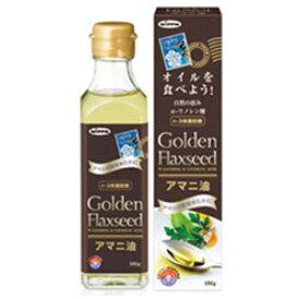 日本デイリーヘルス 日本製粉 アマニ油(亜麻仁油) 186g [振込不可]