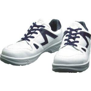 シモン 8611WB-23.5 シモン 安全靴 短靴 8611白/ブルー 23.5cm 8611WB23.5