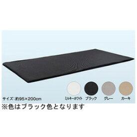 オーシン ファインエアー ポータブル95(95×200×2cm/ブラック)