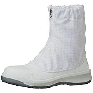 ミドリ安全 ミドリ安全 トウガード付 静電安全靴 GCR1200 フルCAP ハーフ ホワイト 26.0cm GCR1200FCAPHH26.0