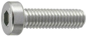 トラスコ中山 低頭六角穴付ボルト ステンレス全ネジ サイズM5X10 9本入 B0890510 B0890510