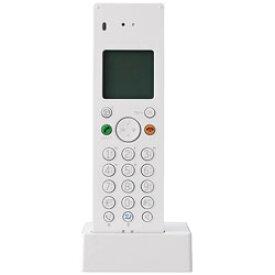 プラマイゼロ デジタルコードレス留守番電話機Z040 XMT-Z040W(ホワイト) XMTZ040W