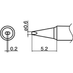 白光 白光 こて先 0.6D型 T35-03D06 T3503D06