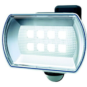 ムサシ ダンケ 4.5Wワイド フリーアーム式LED乾電池センサーライト E42150