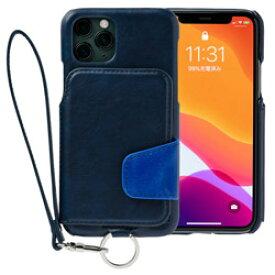 トーモ RAKUNI Soft Leather Case for iPhone 11 Pro rak-19ips-pnvy ネイビーブルー RAK19IPSPNVY [振込不可]