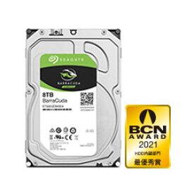 Seagate ST8000DM004 内蔵HDD BarraCuda [3.5インチ /8TB] ST8000DM004