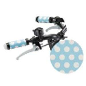 ブリヂストン 子供用自転車用ハンドルグリップ(ドット柄ブルー/2個入り)F170402/HG-BIKK【bikke(ビッケ)カラーコンセプト パーツ】 HG-BIKK