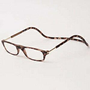名古屋眼鏡 クリックリーダー マットタイプ(マットブラウン/+3.50)
