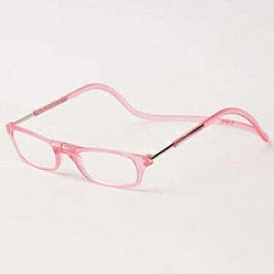 名古屋眼鏡 クリックリーダー マットタイプ(マットピンク/+2.50)