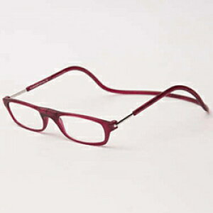 名古屋眼鏡 クリックリーダー マットタイプ(マットボルドー/+1.50)