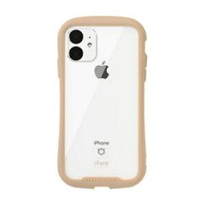 HAMEE iPhone 11 6.1インチ iFace Reflection強化ガラスクリアケース 41-907399 ベージュ IPXIRIFACERFTBG