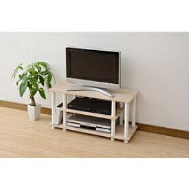 ヤマゼン システムラックTV台 80cm幅 テレビ台 YWTV-8030(OAK3WH) YWTV8030
