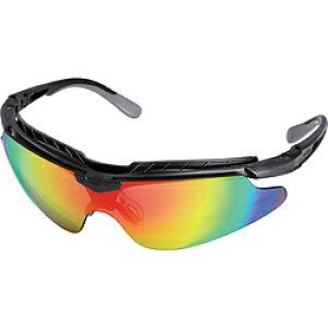 OTOS社 OTOS 一眼型保護メガネ(スポーツタイプ)レインボーレンズ フレーム黒色 B810XRO