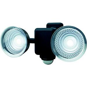 ムサシ ダンケ 1.3W×2灯 フリーアーム式LED乾電池センサーライト E42225