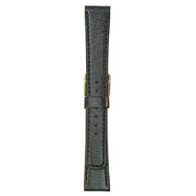 ビーケイシー BEAR時計バンド 革(16-14mm・合成皮革・黒) 2415116 2415116