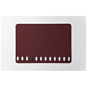 イケックス工業 箸置きランチョンマット ワインレッド 3603 3603