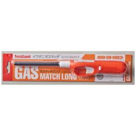岩谷産業 イワタニ ガスマッチロング オレンジ&ホワイト G-MA-LOR GMALOR