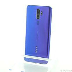 【中古】OPPO(オッポ) OPPO A5 2020 64GB ブルー CPH1943 SIMフリー【291-ud】