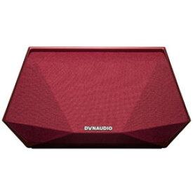 DYNAUDIO ブルートゥース/WiFiスピーカー MUSIC 3 RED レッド [ハイレゾ対応 /Bluetooth対応 /Wi-Fi対応] MUSIC3RED