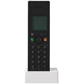 プラマイゼロ デジタルコードレス留守番電話機Z040 XMT-Z040B(ブラック) XMTZ040B