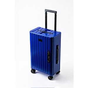 JEETA 折り畳みキャリーケース &.FLAT(アンドフラット) 35L TSAロック搭載 ブルー FL1440000154