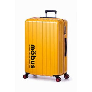 MOBUS スーツケース ハードキャリー 96L mobus(モーブス) イエロー MBC-1908-28 [TSAロック搭載] MBC190828