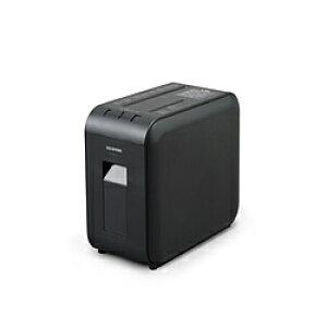 アイリスオーヤマ 超静音細密シュレッダー ブラック P4HMS-B [マイクロクロスカット /A4サイズ /CDカット対応] P4HMSB