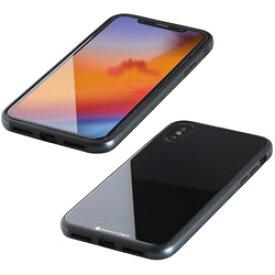 【在庫限り】 IO DATA(アイオーデータ) iPhone XS Max 6.5インチ用 ガラス+TPU+アルミ複合素材ケース ブラック BKS-IP18LTGGABK BKSIP18LTGGABK [振込不可]