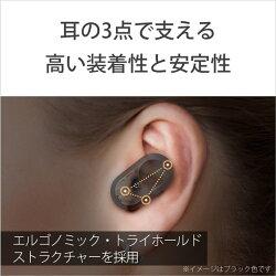 SONY(ソニー)フルワイヤレスイヤホンプラチナシルバーWF-1000XM3SM[リモコン・マイク対応/ワイヤレス(左右分離)/Bluetooth/ノイズキャンセリング対応]WF1000XM3SM
