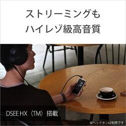 SONY(ソニー)ハイレゾウォークマンZX500シリーズ64GBシルバー[イヤホン無し]NW-ZX507SMNWZX507SM