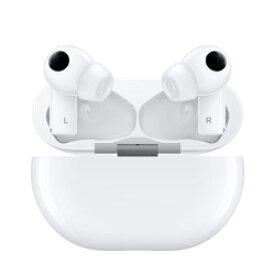 HUAWEI(ファーウェイ) フルワイヤレスイヤホン セラミックホワイト FreeBudsPro/CeramicWhite [マイク対応 /ワイヤレス(左右分離) /Bluetooth /ノイズキャンセリング対応] FREEBUDSPROWHITE