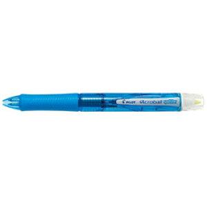 パイロット [多機能ペン]アクロボールスポットライター クリアソフトブルー 蛍光ペンイエロー色 BKAS60FCSL BKAS60FCSL