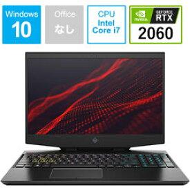 hp(エイチピー) ゲーミングノートPC OMEN15-dh0000 G1モデル 7LH06PA-AAAA [Win10 Pro・Core i7・15.6インチ・メモリ 8GB・RTX 2060] 7LH06PAAAAA [振込不可]