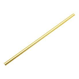 アイデアセキカワ アルミクールストロー ゴールド <EST6104> EST6104